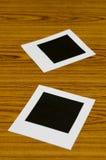 διαμορφωμένη φωτογραφία τρυπών πλαισίων ανασκόπησης όμορφη μαύρη kpugloe Στοκ εικόνες με δικαίωμα ελεύθερης χρήσης