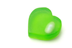 διαμορφωμένο καρδιά σαπούνι Στοκ φωτογραφίες με δικαίωμα ελεύθερης χρήσης