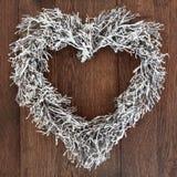 διαμορφωμένο καρδιά στεφά Στοκ εικόνες με δικαίωμα ελεύθερης χρήσης
