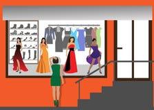 διαμορφώστε το κατάστημα Ελεύθερη απεικόνιση δικαιώματος