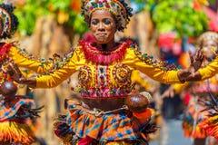24 Ιανουαρίου 2016 Iloilo, Φιλιππίνες Φεστιβάλ Dinagyang Unid Στοκ εικόνα με δικαίωμα ελεύθερης χρήσης