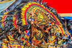 24 Ιανουαρίου 2016 Iloilo, Φιλιππίνες Φεστιβάλ Dinagyang Unid στοκ φωτογραφία
