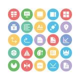 Διανυσματικά εικονίδια 11 σχεδίου & ανάπτυξης Στοκ φωτογραφία με δικαίωμα ελεύθερης χρήσης