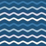 διανυσματικά κύματα θάλασσας απεικόνισης ανασκόπησης Στοκ Φωτογραφίες