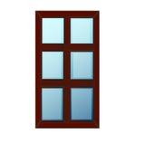 Διανυσματικά παράθυρα πλαστικό Glosed Στοκ Φωτογραφία