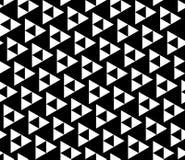 Διανυσματικά σύγχρονα άνευ ραφής τρίγωνα σχεδίων γεωμετρίας, γραπτή περίληψη Στοκ Φωτογραφίες