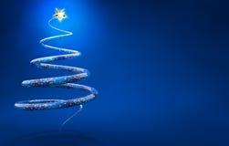 διανυσματικά Χριστούγεννα δέντρων απεικόνισης Στοκ εικόνα με δικαίωμα ελεύθερης χρήσης