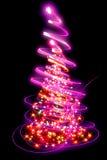 διανυσματικά Χριστούγεννα δέντρων απεικόνισης Στοκ Εικόνες