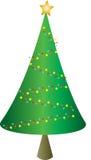 διανυσματικά Χριστούγεννα δέντρων απεικόνισης Στοκ φωτογραφίες με δικαίωμα ελεύθερης χρήσης