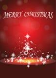 διανυσματικά Χριστούγεννα απεικόνισης εμβλημάτων στοκ φωτογραφία με δικαίωμα ελεύθερης χρήσης