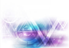 Διανυσματική απεικόνιση έννοιας τεχνολογίας υποβάθρου αφηρημένη Στοκ φωτογραφία με δικαίωμα ελεύθερης χρήσης