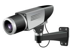 Διανυσματική απεικόνιση CCTV Στοκ Εικόνες