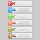 Διανυσματική απεικόνιση Infographic μπορέστε να χρησιμοποιηθείτε για το σχεδιάγραμμα ροής της δουλειάς, διάγραμμα, optionsinfogra Στοκ Εικόνες