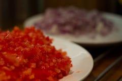 διανυσματική γυναίκα προετοιμασιών κουζινών απεικόνισης τροφίμων Στοκ εικόνα με δικαίωμα ελεύθερης χρήσης