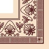Διανυσματική ελληνική διακόσμηση Στοκ φωτογραφία με δικαίωμα ελεύθερης χρήσης