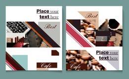 Διανυσματική παρουσίαση κάλυψης προτύπων σχεδίου φυλλάδιων ή ιπτάμενων abst Στοκ φωτογραφίες με δικαίωμα ελεύθερης χρήσης