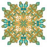 Διανυσματική στρογγυλή διακόσμηση Στοκ Εικόνες