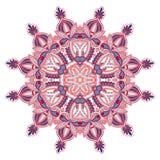 Διανυσματική στρογγυλή διακόσμηση Στοκ φωτογραφία με δικαίωμα ελεύθερης χρήσης