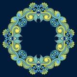 Διανυσματική στρογγυλή διακόσμηση Στοκ εικόνες με δικαίωμα ελεύθερης χρήσης