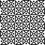 Διανυσματική σύγχρονη άνευ ραφής κλεψύδρα σχεδίων γεωμετρίας, γραπτή περίληψη Στοκ Εικόνα