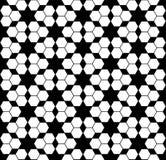 Διανυσματική σύγχρονη άνευ ραφής hexagon, γραπτή περίληψη σχεδίων γεωμετρίας Στοκ Εικόνα