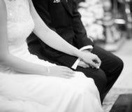 διανυσματικός γάμος απεικόνισης νεόνυμφων νυφών Στοκ Εικόνες
