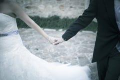 διανυσματικός γάμος απεικόνισης νεόνυμφων νυφών Στοκ εικόνα με δικαίωμα ελεύθερης χρήσης