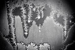 διανυσματικός χειμώνας παραθύρων προτύπων απεικόνισης Στοκ Φωτογραφίες