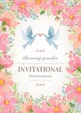 διανυσματικό γαμήλιο λευκό πρόσκλησης σχεδίων καρτών ανασκόπησης Στοκ φωτογραφίες με δικαίωμα ελεύθερης χρήσης