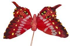 διανυσματικό λευκό απεικόνισης πεταλούδων ανασκόπησης Στοκ φωτογραφίες με δικαίωμα ελεύθερης χρήσης