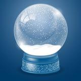 διανυσματικό λευκό χιονιού σφαιρών απομονωμένο απεικόνιση διανυσματική απεικόνιση