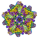 Διανυσματικό διακοσμητικό Mandala Στοκ Εικόνες