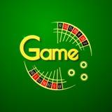 Διανυσματικό λογότυπο παιχνιδιών Στοκ Φωτογραφία