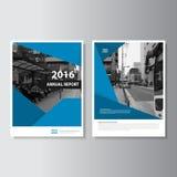 Διανυσματικό σχέδιο μεγέθους προτύπων ιπτάμενων φυλλάδιων φυλλάδιων A4, σχέδιο σχεδιαγράμματος κάλυψης βιβλίων ετήσια εκθέσεων, α Στοκ Εικόνες