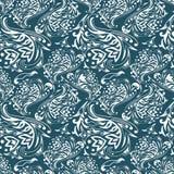 Διανυσματικό σχέδιο curles Στοκ Εικόνα