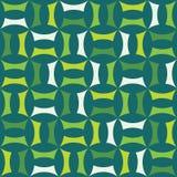Διανυσματικό σύγχρονο άνευ ραφής ζωηρόχρωμο σχέδιο γεωμετρίας, περίληψη χρώματος Στοκ Εικόνες