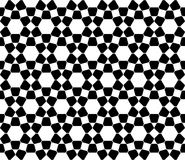 Διανυσματικό σύγχρονο άνευ ραφής ιερό Ισλάμ σχεδίων γεωμετρίας, γραπτή περίληψη Στοκ Εικόνα
