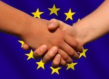 διαπραγμάτευση ευρωπαϊ&kap Στοκ Φωτογραφία