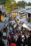 Ιαπωνία Κιότο παλαιό Στοκ εικόνα με δικαίωμα ελεύθερης χρήσης