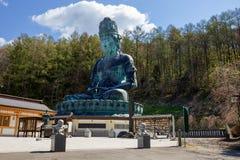 Ιαπωνία Ο μεγάλος Βούδας του νομαρχιακού διαμερίσματος Aomori Στοκ Εικόνες