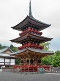 Ιαπωνία Παγόδα στο ναό Narita Shinshoji στοκ φωτογραφίες με δικαίωμα ελεύθερης χρήσης