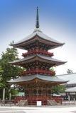 Ιαπωνία Παγόδα στο ναό Narita Shinshoji στοκ φωτογραφία με δικαίωμα ελεύθερης χρήσης