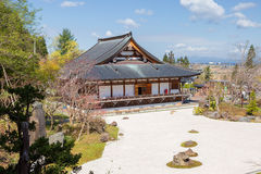 Ιαπωνία Στο νομαρχιακό διαμέρισμα Aomori Ναός Seiryu Πέτρες κήπων Στοκ φωτογραφία με δικαίωμα ελεύθερης χρήσης