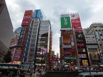 Ιαπωνία Τόκιο Περιοχή Shinjuku στοκ εικόνες
