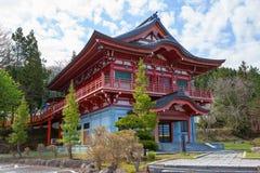 Ιαπωνία Aomori Ναός Seiryu Στοκ Φωτογραφίες