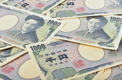 Ιαπωνικά 1000 γεν Στοκ φωτογραφία με δικαίωμα ελεύθερης χρήσης