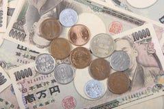 ιαπωνικά γεν Στοκ Εικόνα