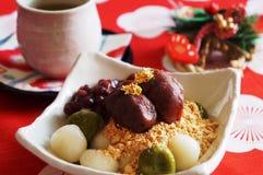 Ιαπωνικά γλυκά για την ημέρα του νέου έτους Στοκ Φωτογραφίες