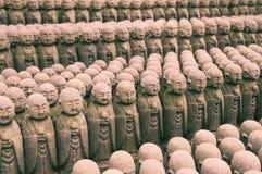 ιαπωνικά γλυπτά jizo Στοκ φωτογραφίες με δικαίωμα ελεύθερης χρήσης