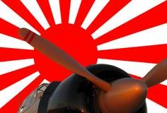ιαπωνικά μηδέν Στοκ φωτογραφία με δικαίωμα ελεύθερης χρήσης